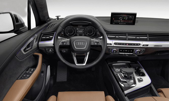 Audi Q7 3.0-litre TDI Diesel Engine is Well Mannered for 2016