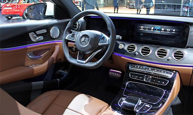 Mercedes E Class World Debut At Detroit Motor Show