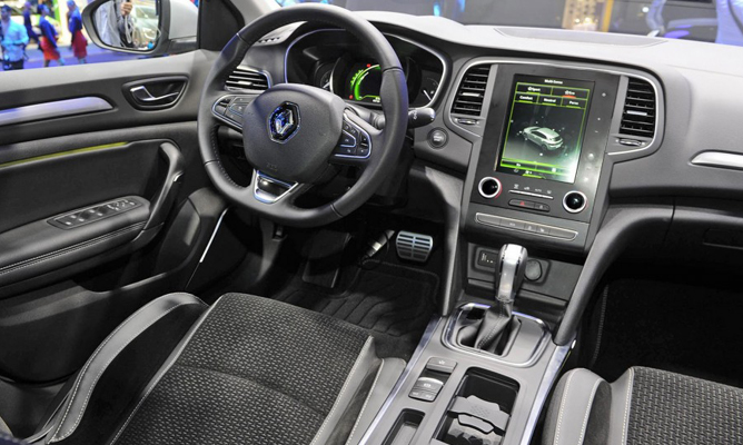 The All New Renault Megane Is Big On Technology