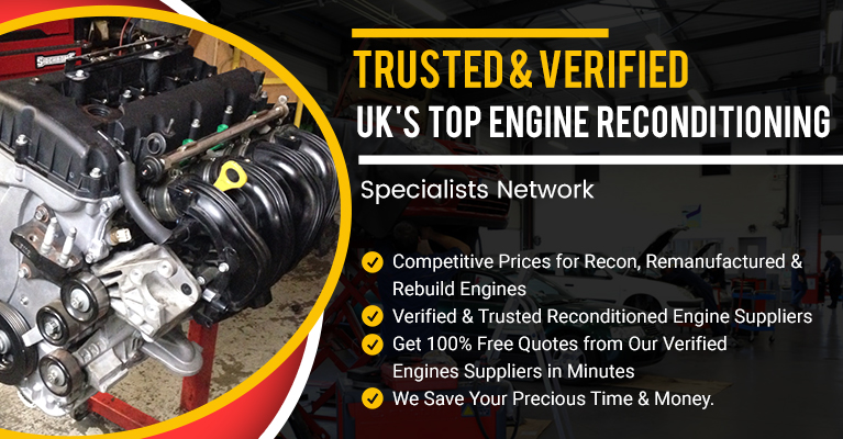 Special offers on reconditioned and remanufactured engines